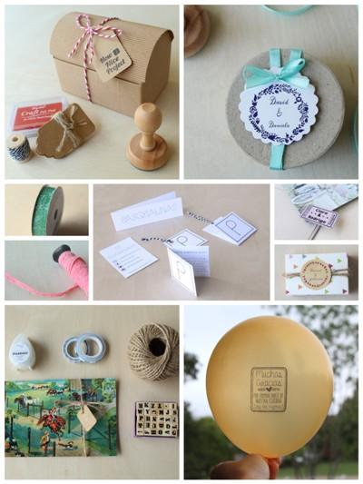 sellos personalizados materiales manualidades