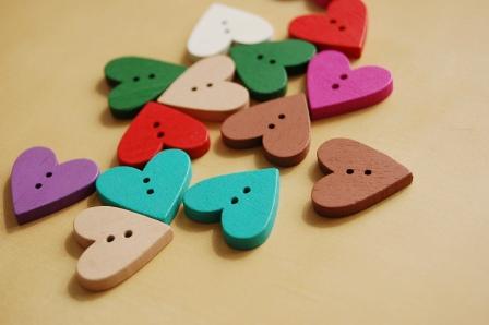 botones corazon