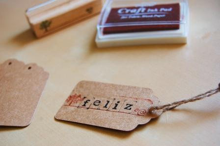 etiquetas de carton regalo