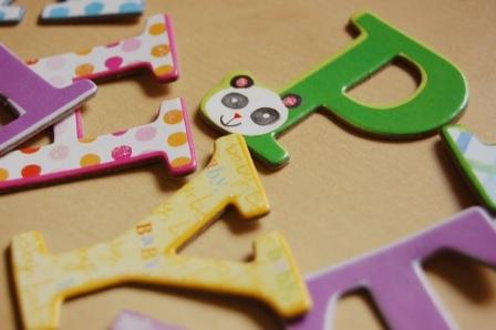 scrapbooking letras baby