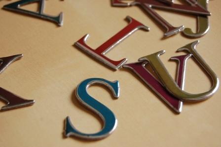 scrapbooking letras freedom