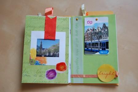 ejemplo mini scrapbook