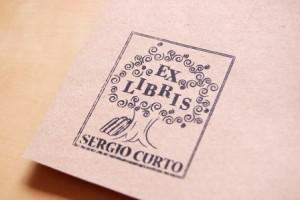 Sello ex libris arbol de la sabiduria how nice project - Ex libris personalizados ...