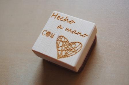 Sello handmade with love