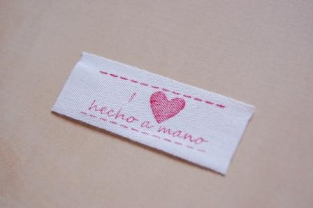 Sello i love handmade