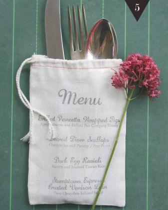 sello boda creativa menu