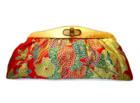 Idea bolso de mano diy tela japonesa