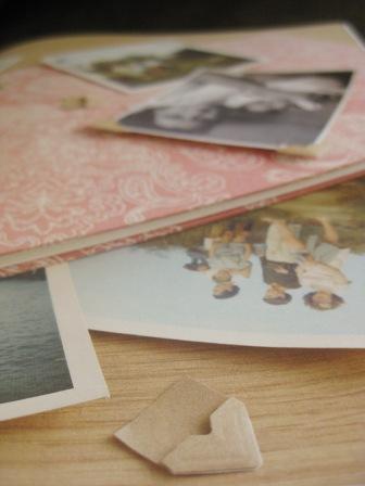 Esquinas kraft para hacer albumes de fotos