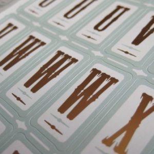 Letras Adhesivas