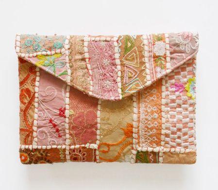 bolso de mano quilt