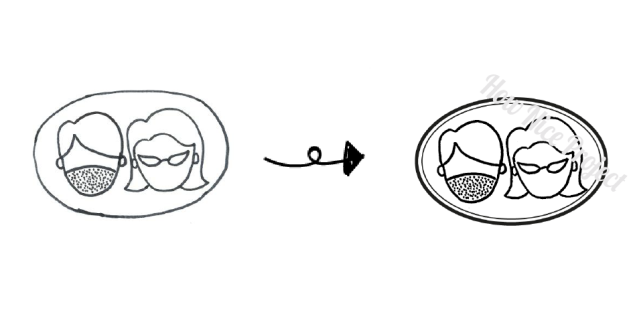 hacer el dibujo de tu sello personalizado