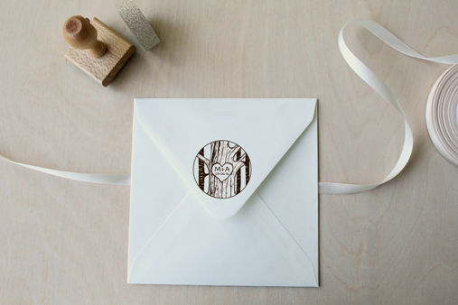 segell casament sello boda iniciales inscrita en tronco arbol