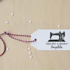 Sellos personalizados para costura y ganchillo