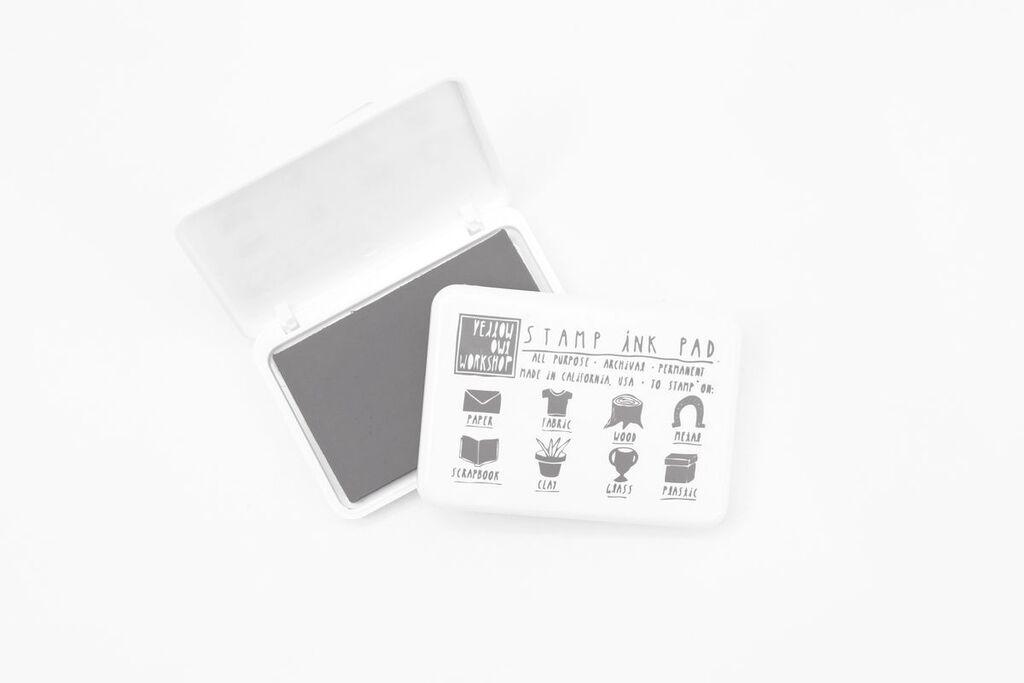 Tinta craft permanente archivo tela madera vidrio gris