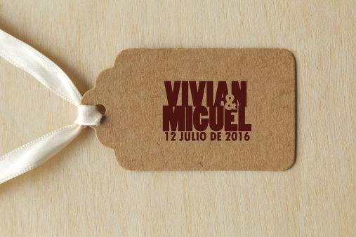 sello personalizado boda pequeño 3 x 2 cm