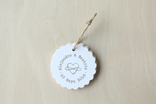 sello boda simbolo infinito corazon