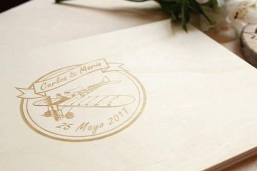 álbum de boda personalizado
