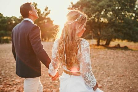 boda campestre - Gema y Érico
