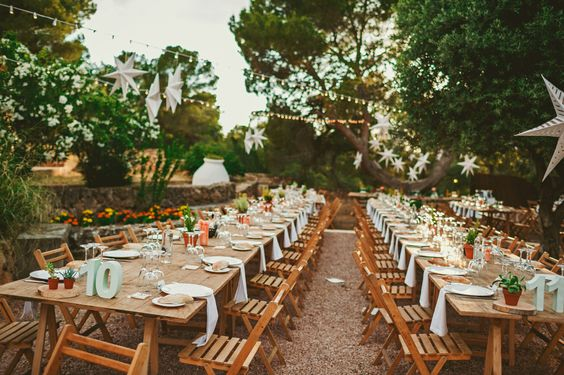 Ideas diy para bodas r sticas boda de gema y rico how for Decoracion rustica para bodas