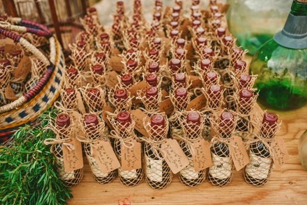 ideas para boda rustica detalles sello personalizado