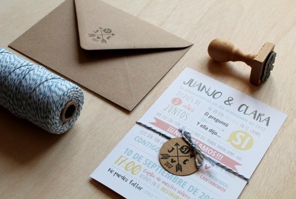 invitaciones de boda contad cuento