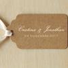sello boda sencillo