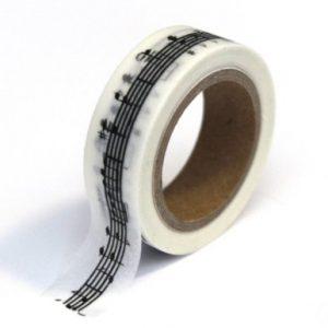 washi tape pentagrama