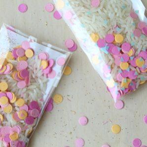 Bolsitas para arroz y detalles