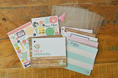 scrapbooking kit