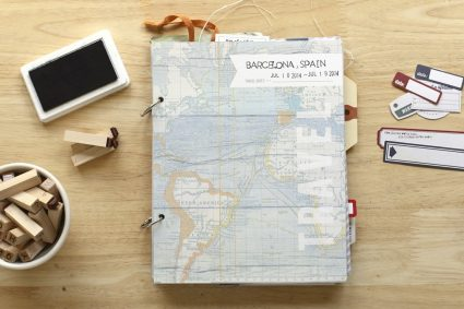 kit de album de viaje