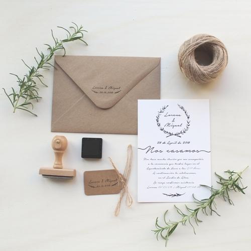 Invitaciones De Boda Rama Natural How Nice Project