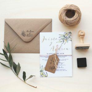 invitaciones de boda original