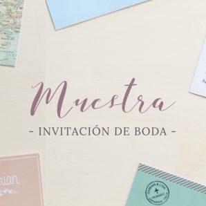 invitaciones de boda muestra españa