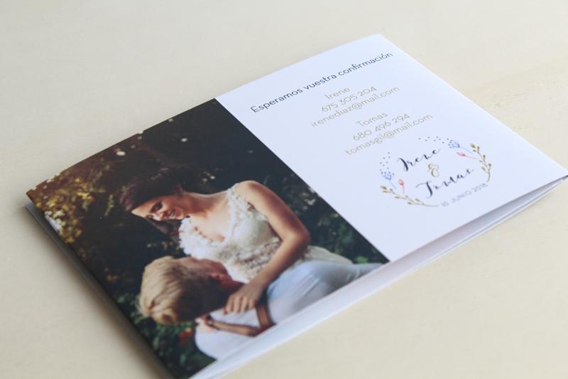 invitaciones de boda con fotos