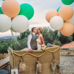 ideas para bodas con tema de viajes photocall
