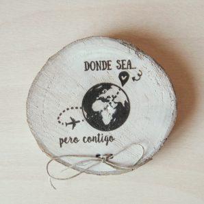 porta alianzas mapa bola del mundo