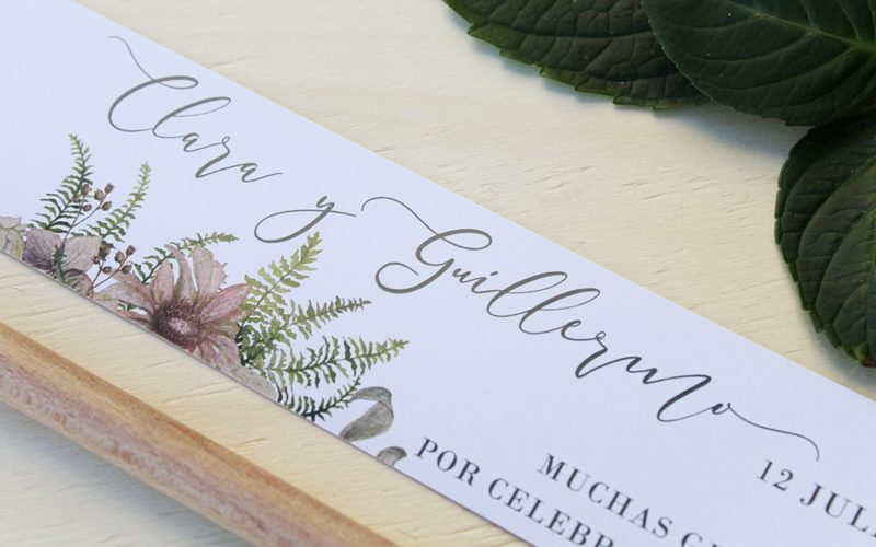detalles de boda de diseño