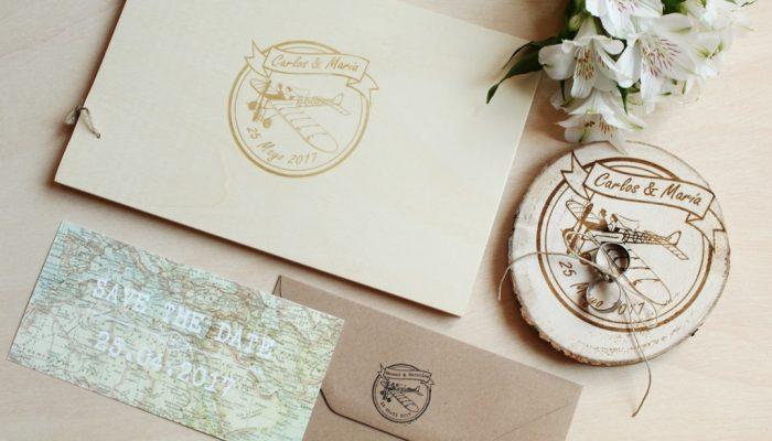 una boda personalizada - servicio de diseño grafico